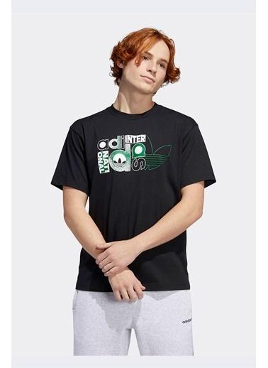 adidas Erkek  Tişört GD2105 Siyah
